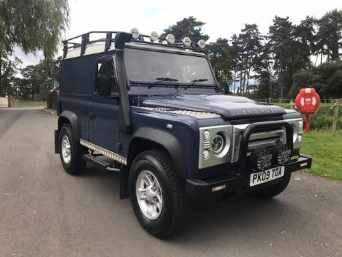 *** SOLD *** Land Rover 90 2.2 TDci 2009